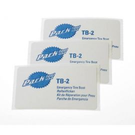 Park Tool TB-2 caja de parches de cubierta 3 unidades