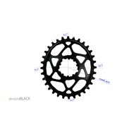 Plato Absolute Black Sram ovalado