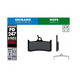 Galfer Pastillas de freno Hope MONO 4 / Shimano Deore Standard