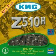 Cadena KMC Z510H 1 velocidad BMX 116 eslabones