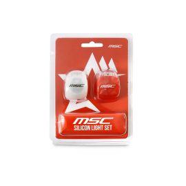 MSC Kit de Luz LED de seguridad delantera y trasera