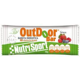 Barrita energetica Nutrisport OutDoor Bar sin cobertura 1ud x 40 gr