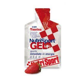 Nutrisport Gel + Taurina de 40 g. Cinco sabores.