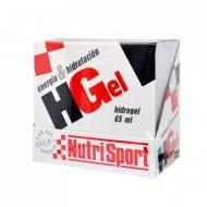 Caja 18 ud Nutrisport HGel  (sin cafeína). Dos sabores.