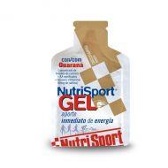 Nutrisport Gel + Guaraná de 40 g. Dos sabores.