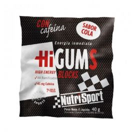 Nutrisport HiGums. Con cafeína. Dos sabores.