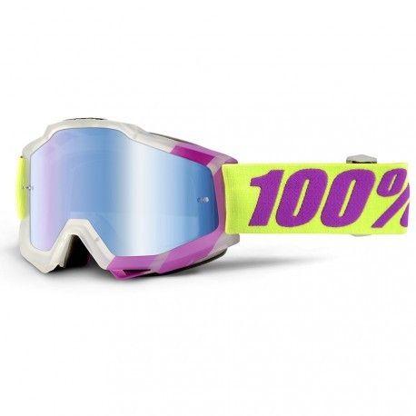 Gafas máscara 100% Accuri Tootaloo lente espejo azul