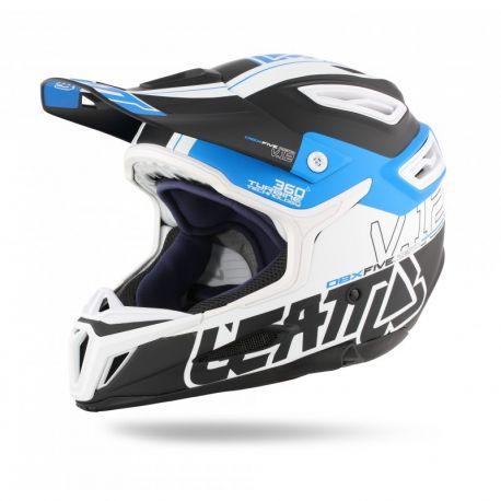 Casco Leatt DBX 5.0 Composite V12 Azul y blanco 089d8e718c7
