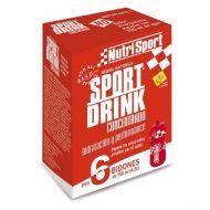 6 sobres Nutrisport Sport Drink Concentrado