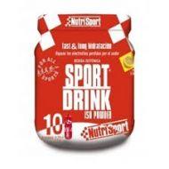 Bote Nutrisport sportdrink iso powder 560gr para 10 bidones.