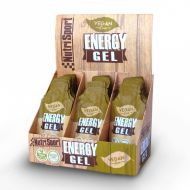 Nutrisport Energy Vegan Gel. Caja de 18 geles.  sabor citrico.