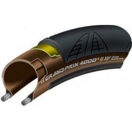 Cubierta Continental Grand Prix 4000S II 700x23c Negro/transparente