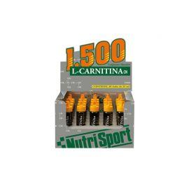 Nutrisport L-CARNITINA. 1500 viales de 25ml.