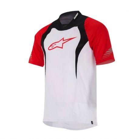 Jersey Alpinestars Drop Rojo / blanco