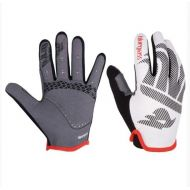 Guantes Bluegrasss Red Wolf  AM/END/BMX blanco/rojo