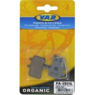 Pastillas de freno Var Organic avid juicy 3,5,7, ultimate, mechanical bb7, promax dsk-950