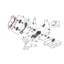 Recambio porta polea interior Shimano M9000 GS / SGS
