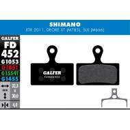 Galfer Pastillas de freno Shimano XTR, XT, SLX, Deore compuesto PRO