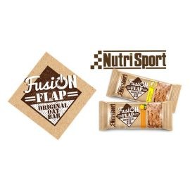 Barritas nutrisport fusion Flap 2 sabores (plátano y albaricoque & dátil) de origen natural