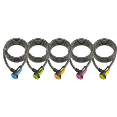 Candado antirrobo Onguard neons 5 colores