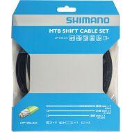 Cable cambio/funda/topes mtb sp41 optislik negro