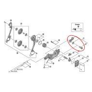 Recambio Shimano XT pieza sujeta cambio puntera M7000