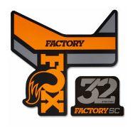 Adhesivos FOX 32 SC Factory 2018 negro