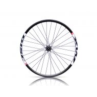 "Rueda delantera 26"" Mach MX buje Shimano disco center lock"