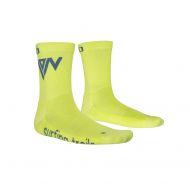Calcetines ION mid Pole talla 39-42 amarillo