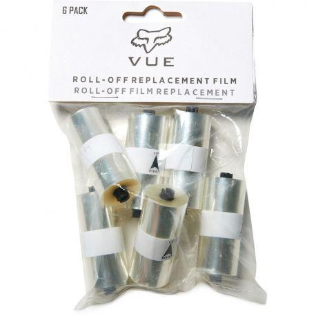 Pack 6 Roll Off gafas máscara Fox Vue | comprar rolloff para gafas masca Fox
