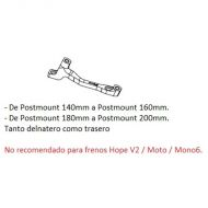 Adaptador de freno Hope K Post Mount /  Post Mount