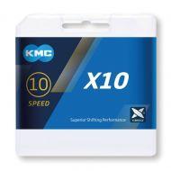 Cadena KMC X-10 Silver 10v
