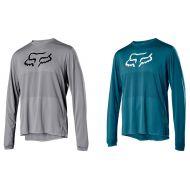 Camiseta manga larga Fox Ranger LS 2020 color verde y gris