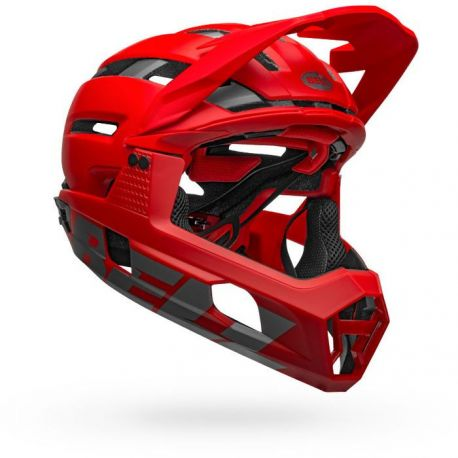 Casco desmontable Bell Super Air R Mips 2020 rojo
