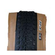 neumáticos marrones bici | Maxxis Rekon Race 29x2.35 EXO TR Flanco Marrón