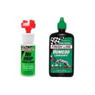 Finish Line - Kit No Drip + Lubricante Húmedo