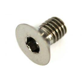 Tornillo titanio allen M6 DIN7991 Gr5 1ud