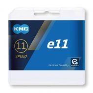 Comprar la Cadena de bicicleta eléctrica KMC X-11E Silver 122 eslabones para e-bikes