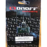 Pastillas de freno Onoff Shimano XT / XTR / SLX para E-BIKE