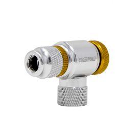 X-Sauce Adaptador Co2 regulable Presta/Schrader