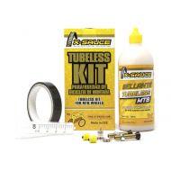 X-Sauce Kit tubeless para 2 ruedas MTB Schrader (válvula gruesa)