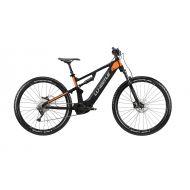 Bicicleta eléctrica Whistle B-RUSH A5.1 Bosch CX 500Wh naranja y negro - tienda bicicletas barcelona