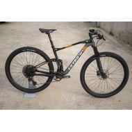 Bicicleta Olympia F1 X SXE carbono Negro/naranja T.M