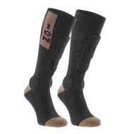 Calcetines ION black con protección marron