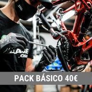 Pack mantenimiento BÁSICO Taller de bicicletas THE BIKE VILLAGE - MATARÓ - MARESME