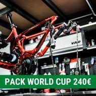 Pack mantenimiento WORLD CUP Taller de bicicletas Maresme - Mataró
