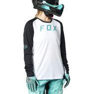 Camiseta de manga larga Fox defend mujer blanco