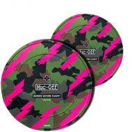 Muc-Off juego protectores disco neopreno camo
