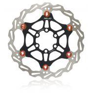 XLC disco de frenos flotante BR-X50, negro/rojo