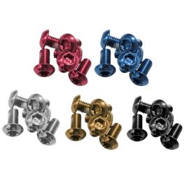 Ashima Set de 12 tornillos de disco de colores